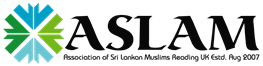ASLAM (Association of Sri Lankan Muslims)