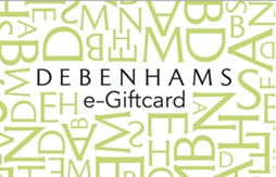 £2 Debenhams e-gift card